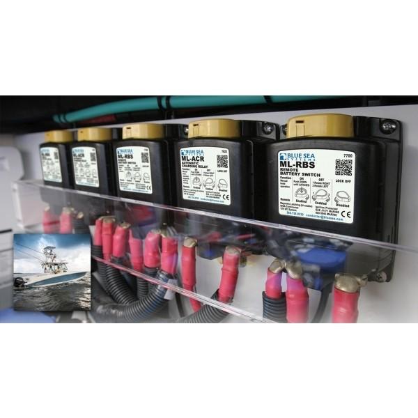 BS7700   AUTOM. CHARGING RELAY ML SERIES 500A 12V RBS W/MANCTRL